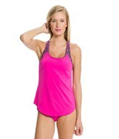 TYR Moonstone Beach 2 in 1 Removable Cup Tank Top