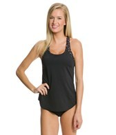 TYR Moonstone Beach 2 in 1 Removable Cup Tankini Top