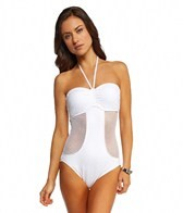 Seafolly Net Effect Bandeau One Piece