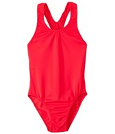 Tidepools Girls'  Solid Racer-Back One Piece (7-14)