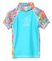 Tidepools Girls' Aloha S/S Rashguard (2-14)