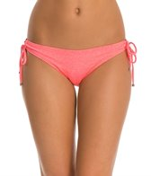Oakley Women's Optic Fiber Solid Legend Tunnel Tie Side Bikini Bottom