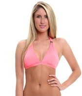Oakley Optic Fiber Solid Dawn to Dusk D Cup Halter Top