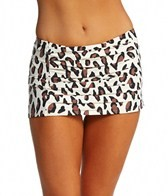 DKNY Urban Animal Draped Skirted Bottom