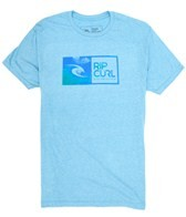 Rip Curl Men's Inked Watu Heather S/S Tee