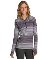 Asics Women's Thermostripe 1/2 Zip Running L/S