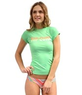 Rip Curl Women's Sunrise Sunset Cap Sleeve Rashguard