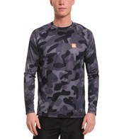 Quiksilver Waterman's Surf N Turf L/S Loose Fit Surf Shirt