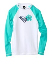 Roxy Girls' Island Fever L/S Rashguard