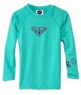 Roxy Girls' Whole Hearted Toddler L/S Rashguard
