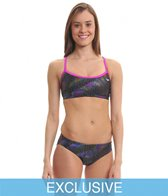 The Finals Funnies Galaxy Workout Bikini Set