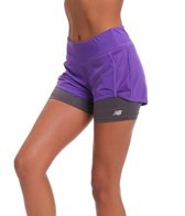New Balance Women's Momentum 2-in-1 Running Short