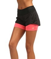 New Balance Women's Momentum 2-in-1 Running Short