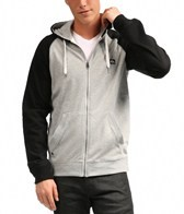 Quiksilver Men's Major Raglan 2 Zip Hoodie