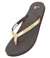 Sanuk Women's Yoga Joy Metallic Sandals
