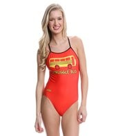 Splish Struggle Bus Super Thin Strap One Piece