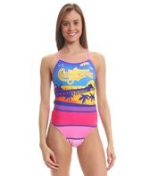 Splish California Dreaming Thin Strap One Piece