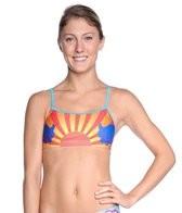 Splish Koi Sunset Bikini Top
