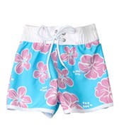 Snapper Rock Girls' Hibiscus Boardshort (4-6yrs)
