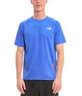 New Balance Men's Boylston Running Short Sleeve