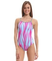 Dolfin Uglies Raya V-2 Back One Piece Swimsuit