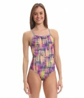 Dolfin Uglies Firenza V-2 Back One Piece Swimsuit