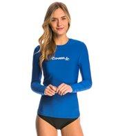 O'Neill Women's Basic Skins L/S Surf Tee