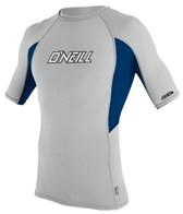 O'Neill Men's Skins S/S Graphic Crew Rashguard