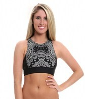 DKNY Bandana Crossback Crop Top