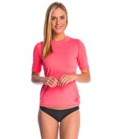 Body Glove Women's Smoothies Fitted S/S Rashguard