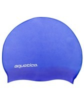 Aquatica Kid's Solid Silicone Swim Cap