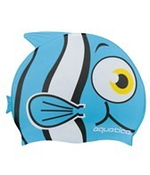 Aquatica Cartoon Clownfish Silicone Swim Cap Jr.