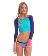 Roxy Golden Girl Raglan Cropped Rashguard
