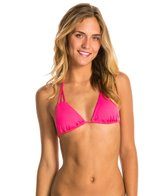 Roxy Fun & Flirty Tiki Triangle Bikini Top
