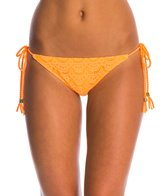 Roxy Gypsy Moon Brazilian String Bikini Bottom