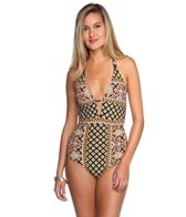 Nanette Lepore Moroccan Medallion Goddess One Piece