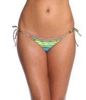 Nanette Lepore Sinaloa Stripe Vamp Tie Side Bottom