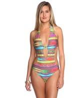 Nanette Lepore Sinaloa Stripe Seductress Monokini