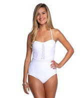 Nanette Lepore Ooh La La Eyelet Seductress One Piece