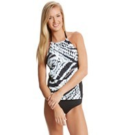 Athena Moon Glow High Neck Tankini Top