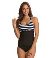 Nautica Women's Broadside Racerback Tankini Top