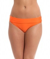 Splendid Sunblock Solids Banded Bikini Bottom
