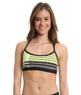 Trina Turk Stripe Hype Sports Bra