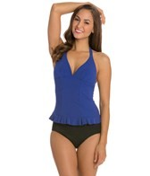 Profile by Gottex Starlet V-Neck Halter Tankini Top