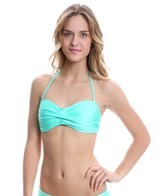 Eidon Solid Twist Bandeau Top