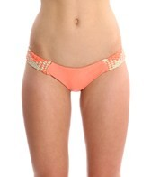 Luli Fama Champagne Sparkle Intertwine Cheeky Bottoms