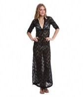 Lucy Love Spa Crochet Resort Maxi Cover Up