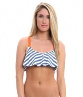 Splendid The Blues Adjustable Strap Crop Top
