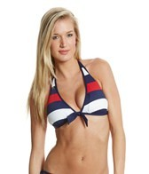Tommy Bahama Mare Rugby Stripe Reversible Halter Top