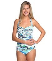 Tommy Bahama Scenic Harbor Halter One Piece